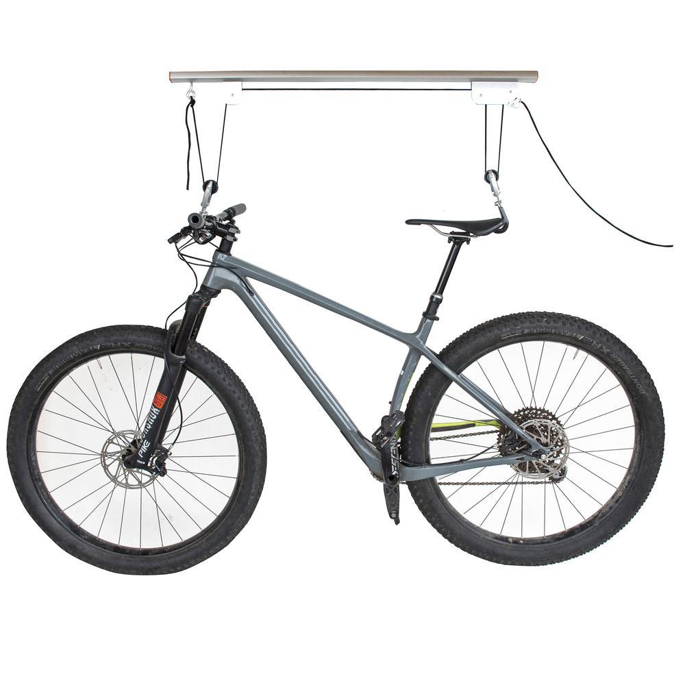 Ceiling Mounted 1-Bike Aluminum Bike Lift