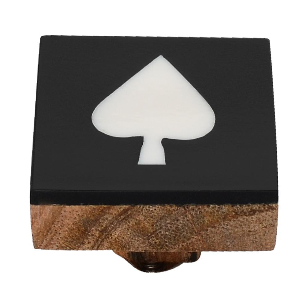 Casino 1-3/7 in. Spade Cabinet Knob