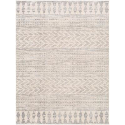 Haruhi Taupe 9 ft. x 12 ft. 3 in. Area Rug