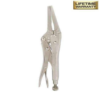 6.5 in Long Nose Locking Pliers