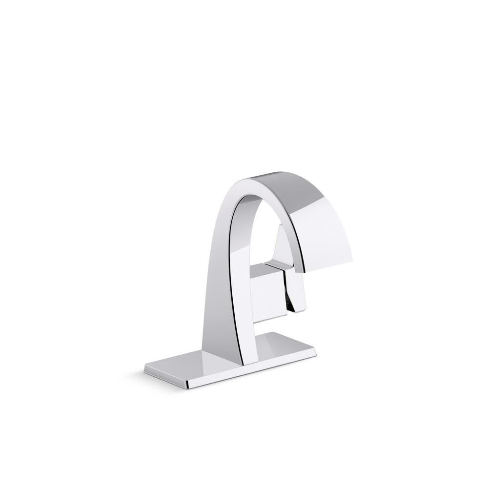 KOHLER Katun Single Handle Bathroom Faucet in Polished Chrome-K ...