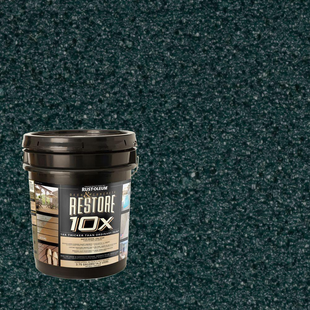 Rust-Oleum Restore 4-gal. Tile Green Deck and Concrete 10X Resurfacer
