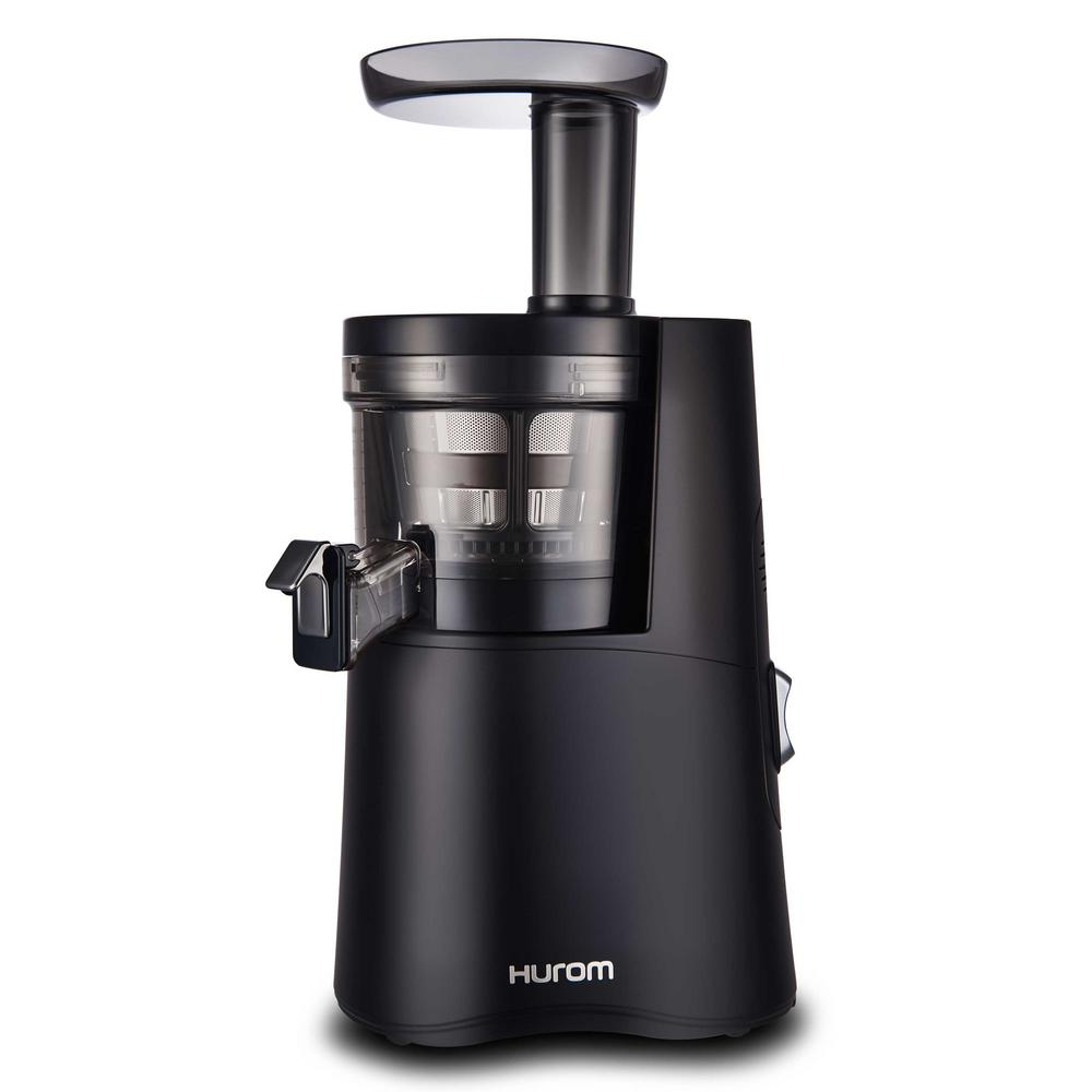 Hurom slow juicer in matte black h aa bbb17 the home depot hurom slow juicer in matte black ccuart Gallery