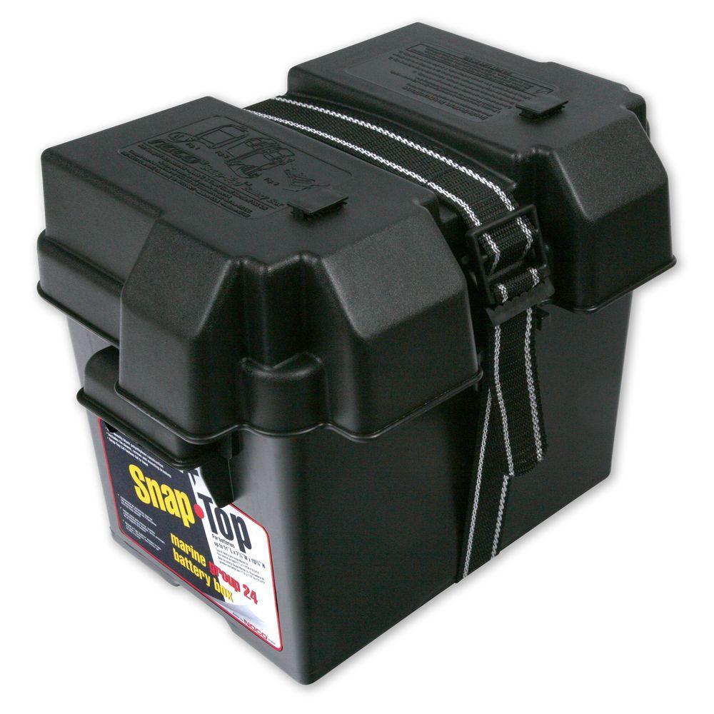 HM300BK Group 24 Snap-Top Battery Box