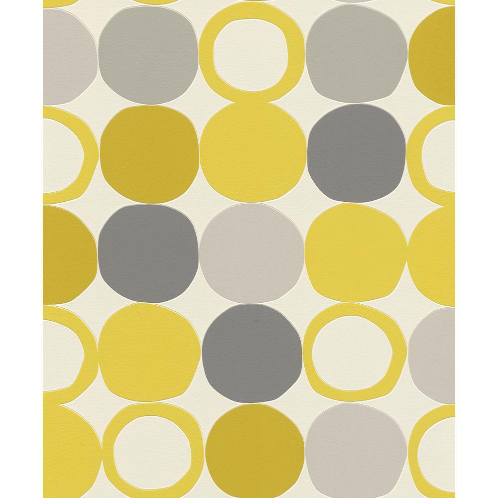 Beard Yellow Geometric Wallpaper