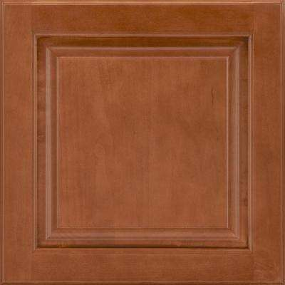 14-9/16x14-1/2 in. Cabinet Door Sample in Portola Maple Cognac