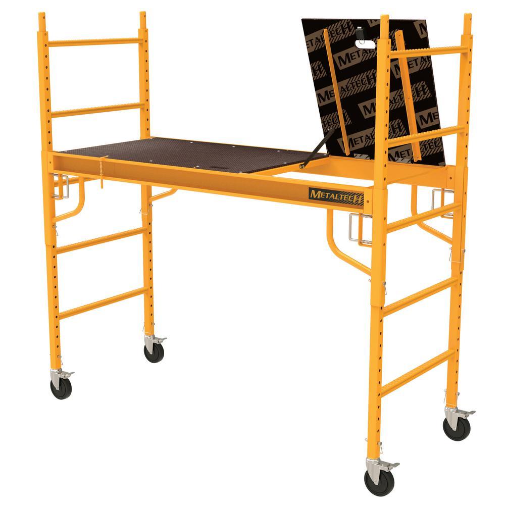 Deals on MetalTech Safeclimb Baker Style Scaffold 1100 lbs. Capacity