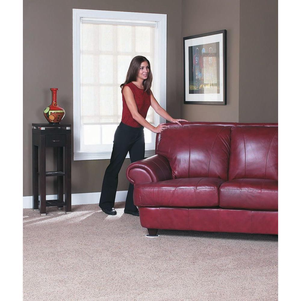 Everbilt Furniture Sliders For Carpet 8 Per Pack 83036n12 The Home Depot
