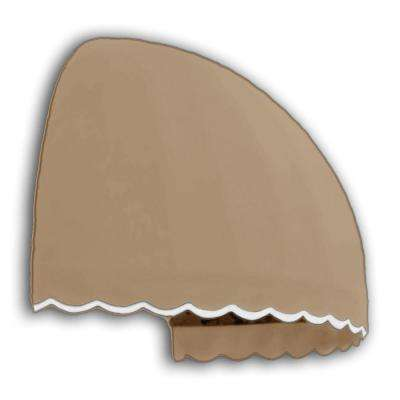 4 ft. Bostonian Awning (33.25 in. H x 26.25 in. D) in Tan