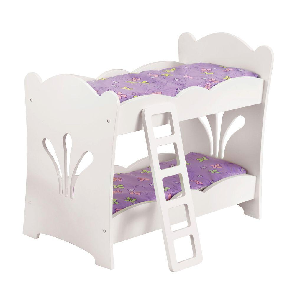 KidKraft Lilu0027 Doll Bunk Bed