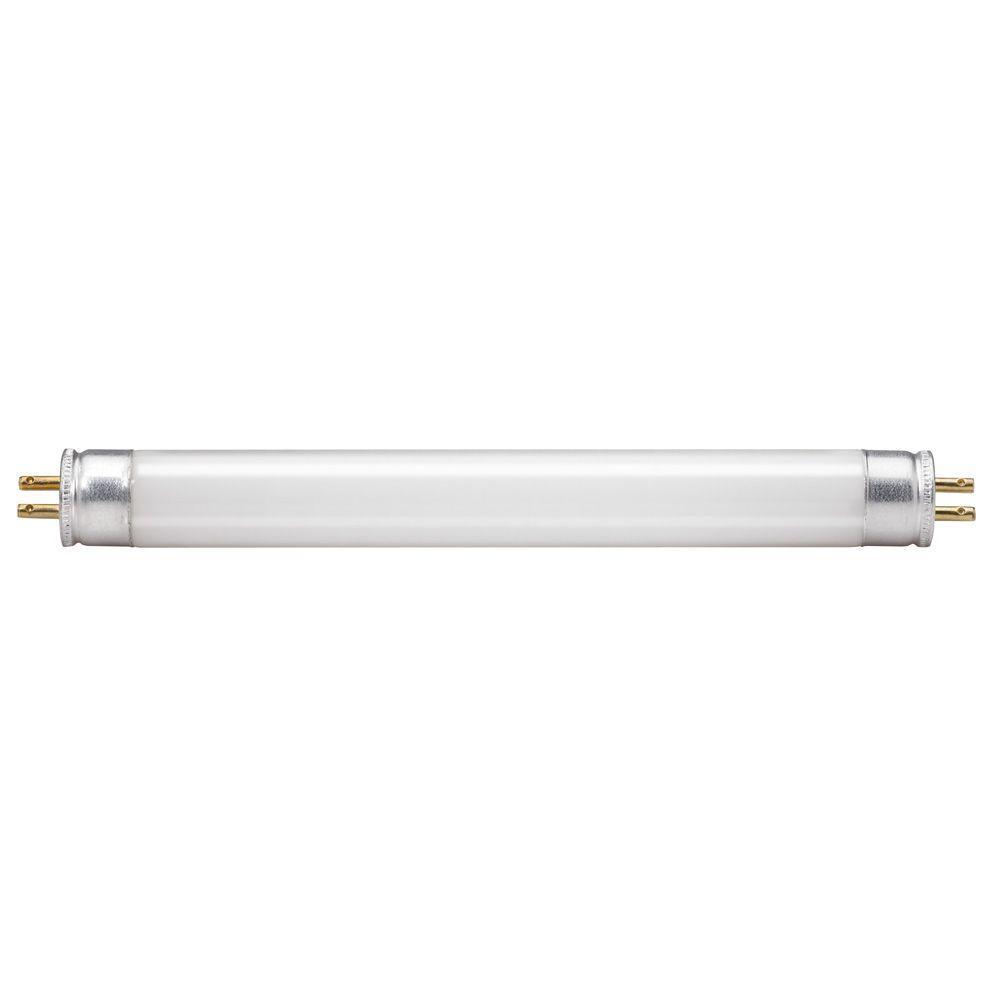 Fluorescent Shop Light Wattage: Philips 6 In. T5 4-Watt Soft White (3000K) Linear