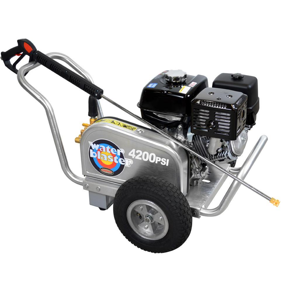 Aluminum Belt Drive 4,200 PSI 4.0 GPM Gas Pressure Washer