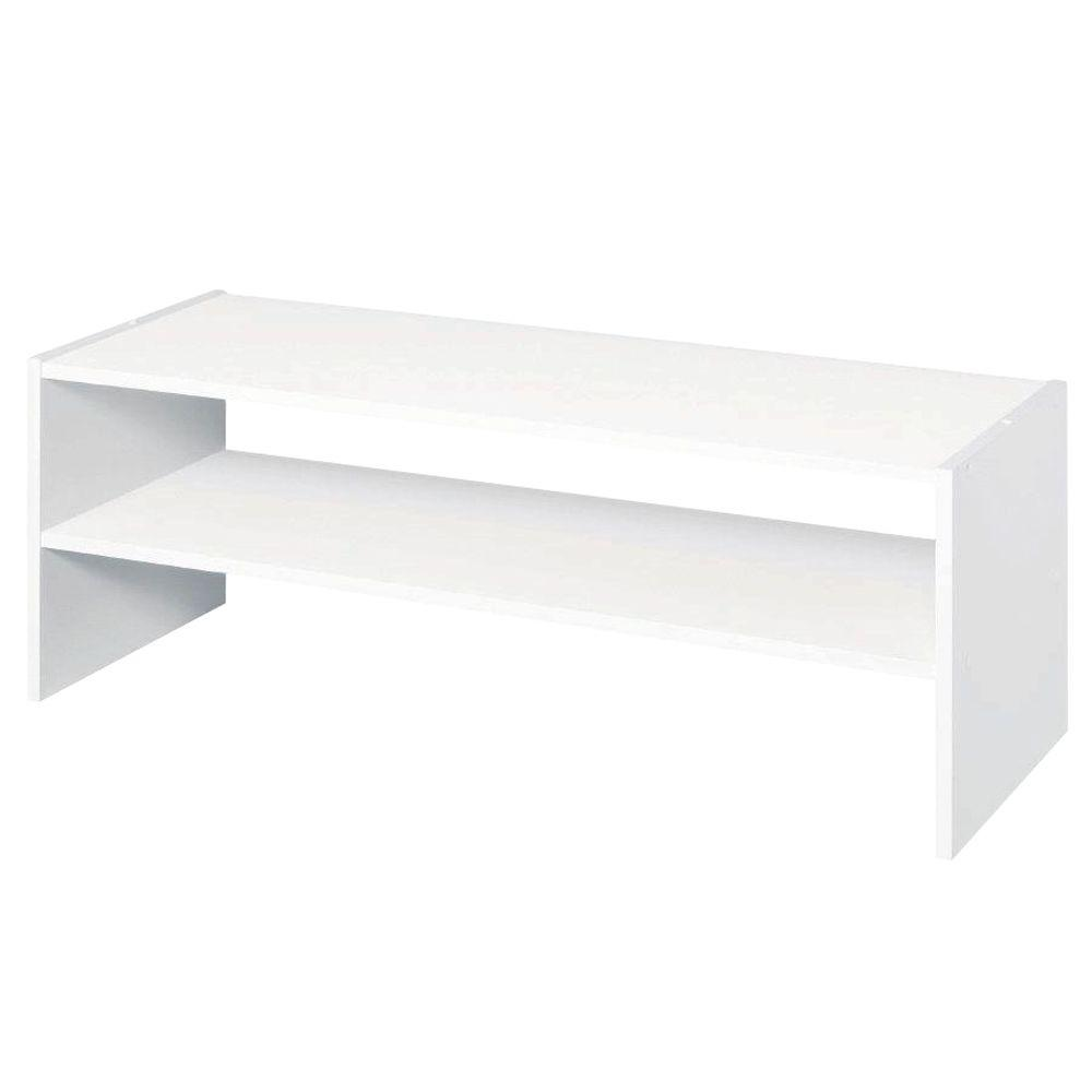 ClosetMaid Selectives 31 in. White Stackable Storage Organizer