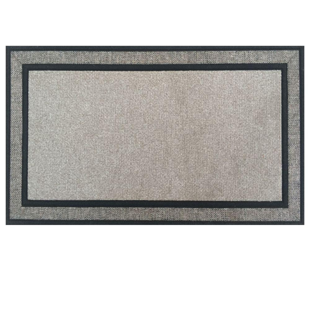 Charmant Rubber Backed Door Mat