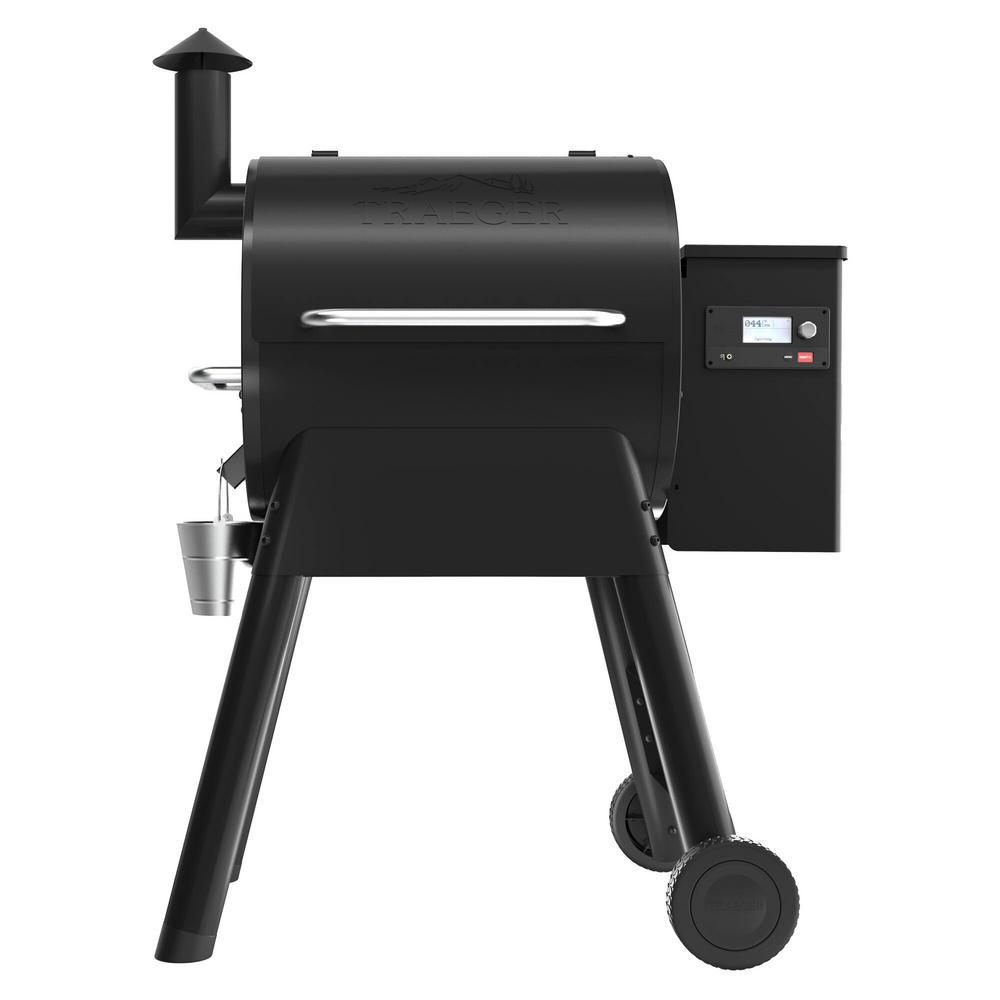 Traeger Pro 575 Wifi Pellet Grill and Smoker in Black