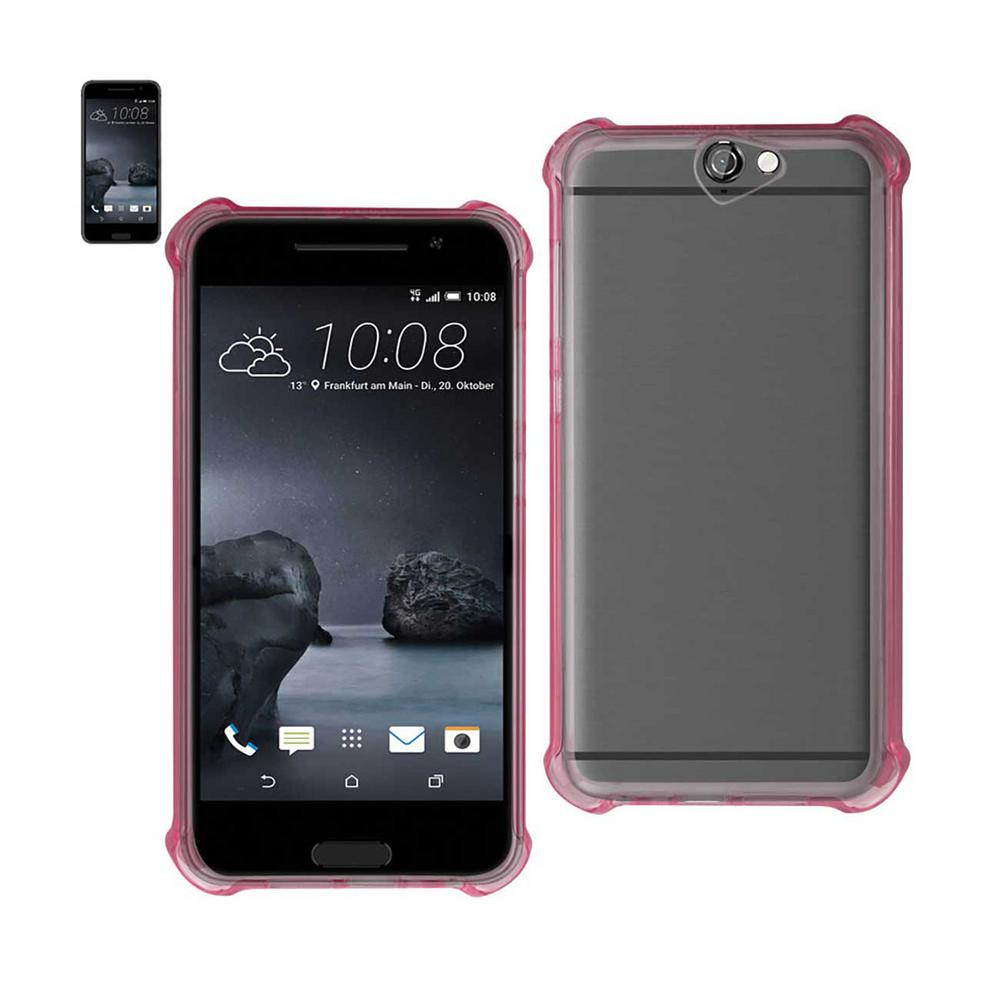 HTC One A9 Air Cushion Case in Clear Pink
