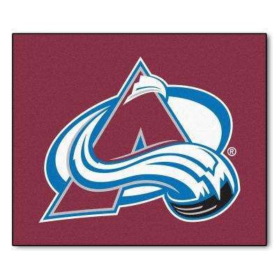 Colorado Avalanche 5 ft. x 6 ft. Tailgater Rug