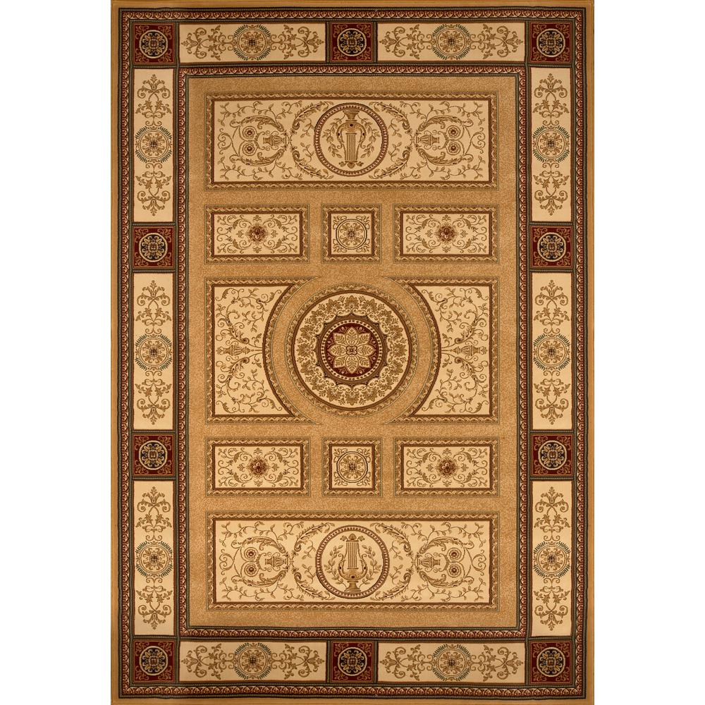 Home Dynamix Empire Gold 9 ft. 2 in. x 12 ft. 5 in. Indoor Area Rug