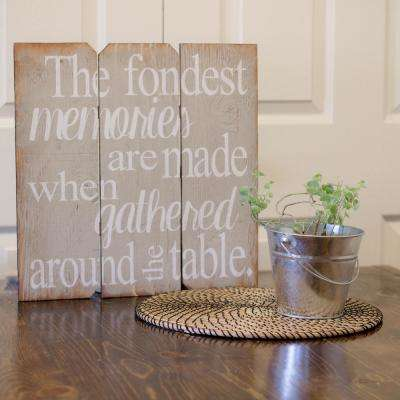 """16 in. x 16 in. """"The Fondest Memories"""" by Boulder Innovations Printed Wall Art"""