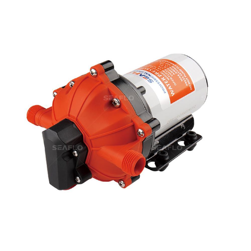 12-Volt 0.12 HP 5.5 GPM Water Pressure Diaphragm Pump