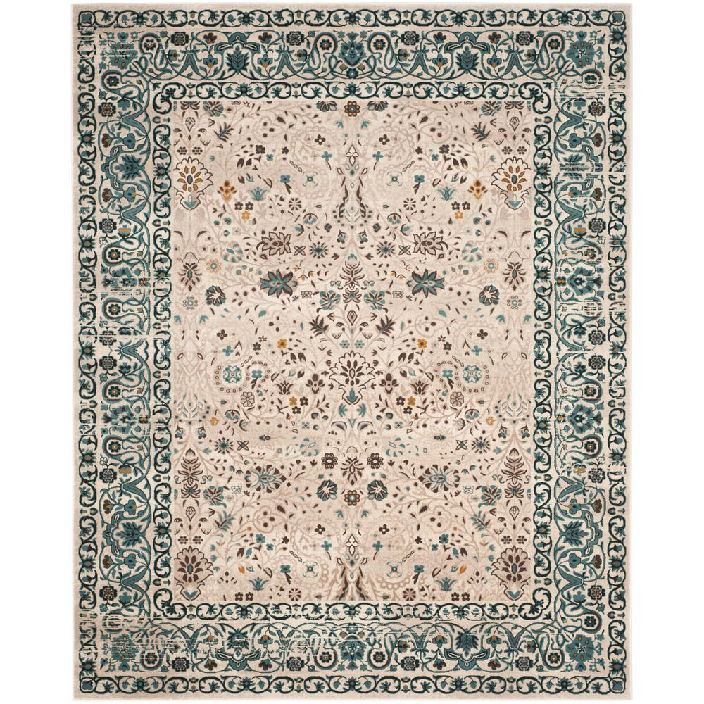 Safavieh Serenity Beige/Blue 4 ft. x 6 ft. Area Rug