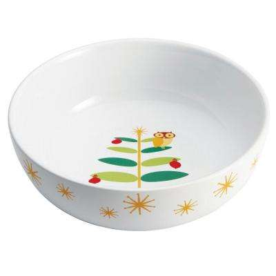 Holiday Hoot 10 in. Serving Bowl