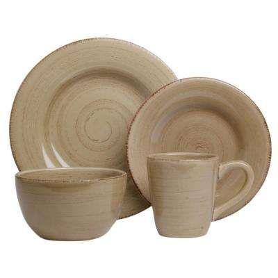 Sonoma 16-Piece Dinnerware Set in Tan