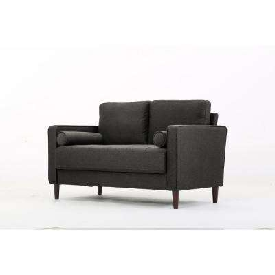 Lillith Loveseat in Heather Grey
