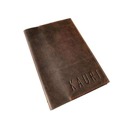 Handmade Mini Leather Travel Journal Organizer Case