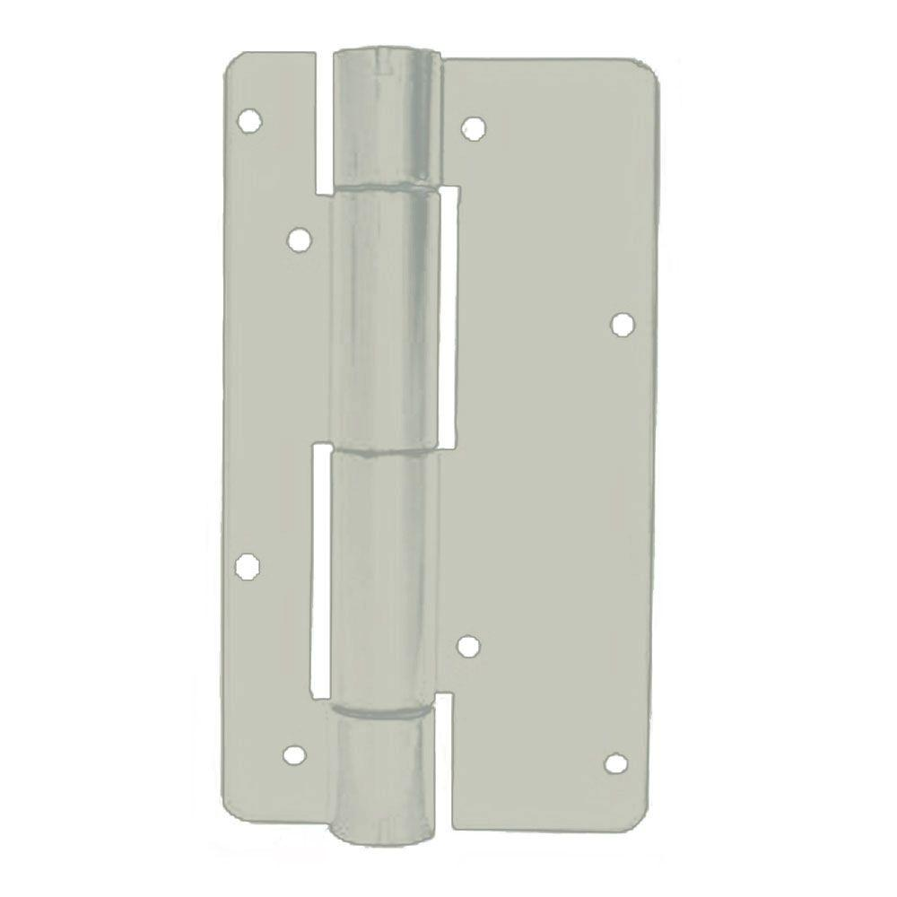 Allure Aluminum Replacement Sandstone Fence Self Closing Hinges (2-Pack)-DISCONTINUED