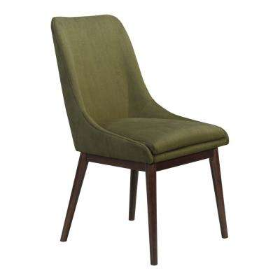 Ashmore Emerald Green Dining Chair (Set of 2)