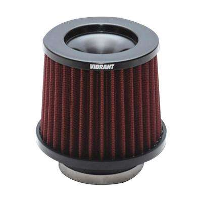 The Classic Performance Air Filter (5.25in O.D. Cone x 5in Tall x 3in inlet I.D.)