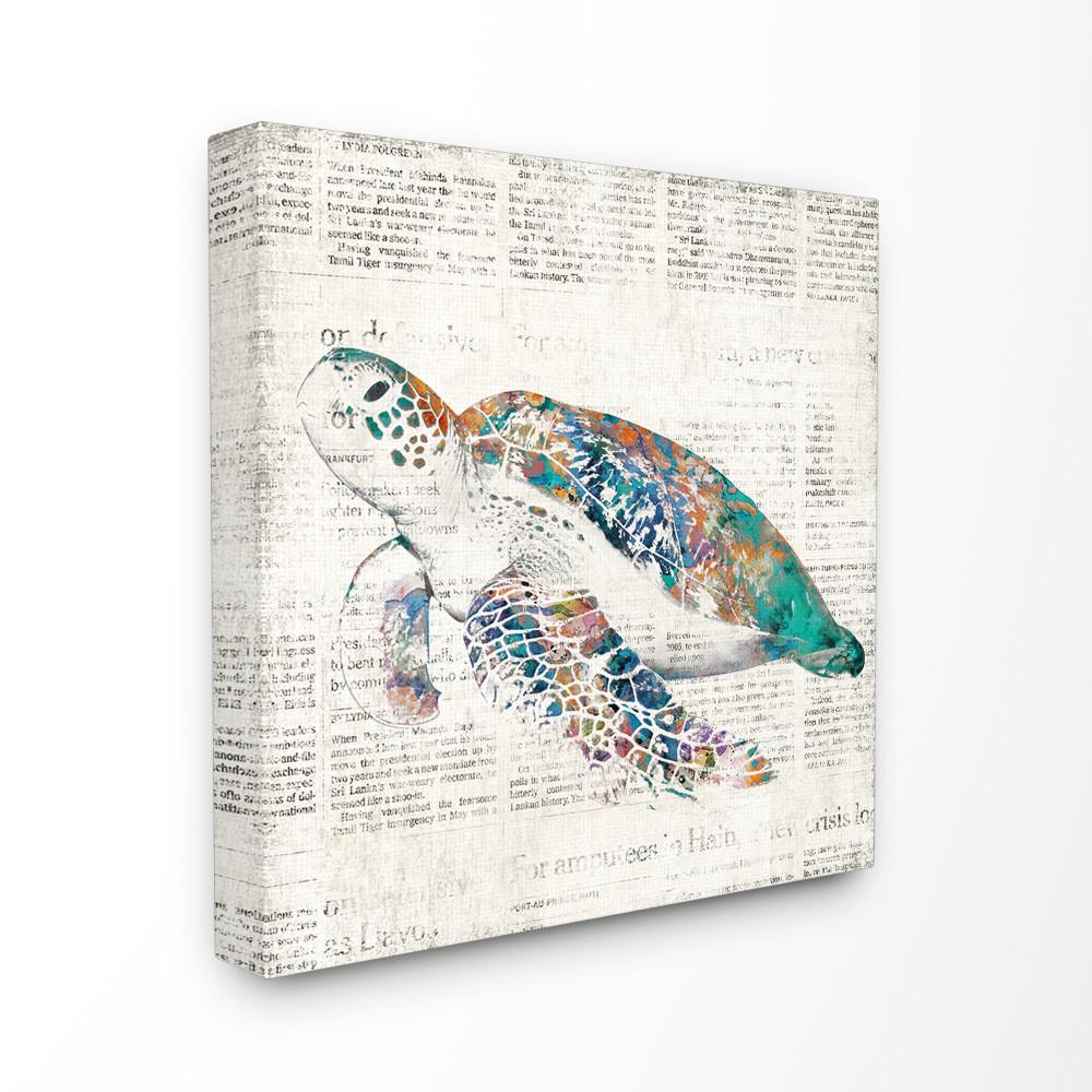The Stupell Home Decor Collection 17 In X Multi Colored Sea