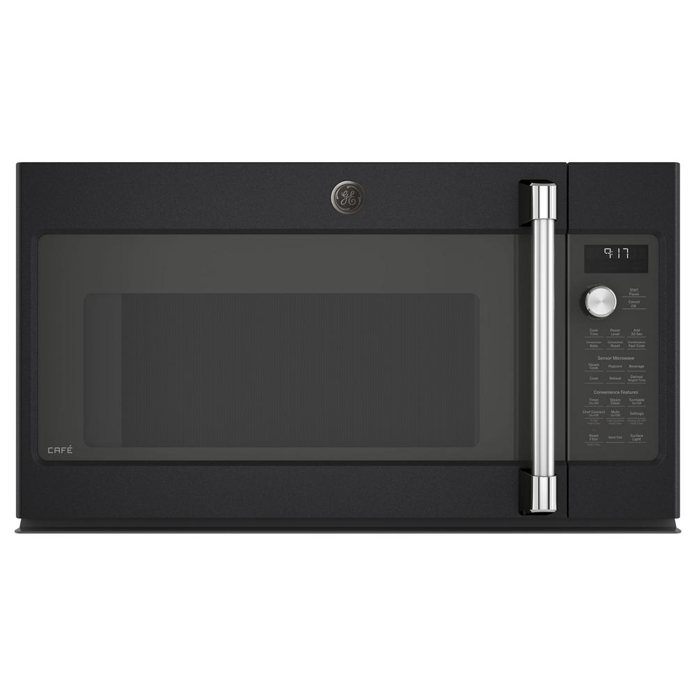 1.7 cu. ft. Over the Range Convection Microwave in Black Slate,