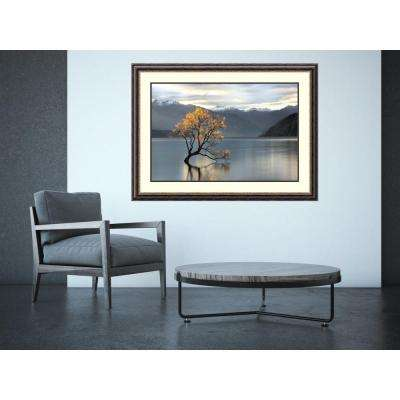 "46 in. W x 34 in. H ""Undisturbed"" by Michael Cahill Framed Art Print"
