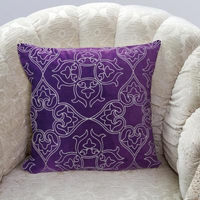 Kaleidoscope Purple Decorative Pillow (Set of 2)
