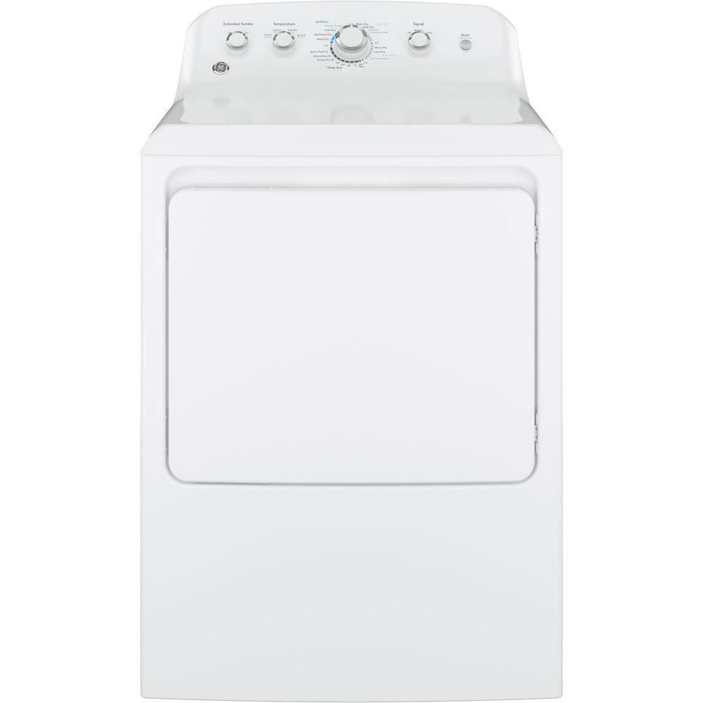 GE 7.2 cu. ft. Electric Dryer in White