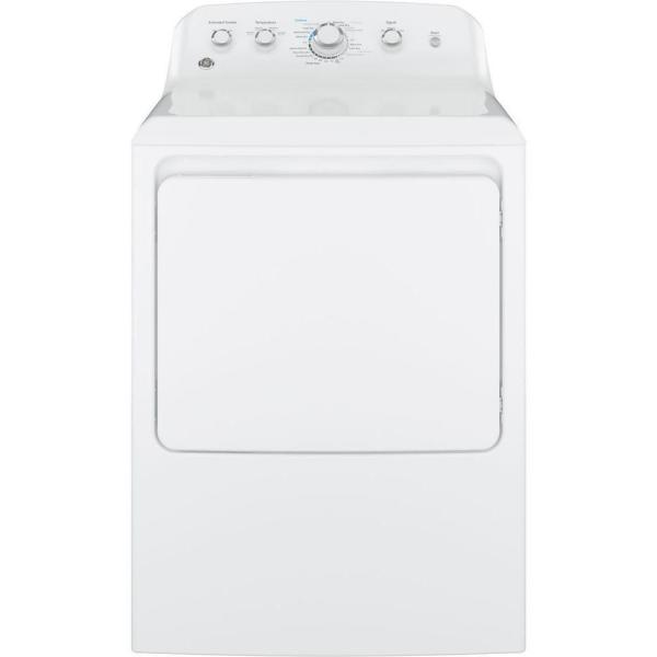 7.2 cu. ft. 240-Volt White Electric Vented Dryer