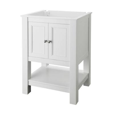 Gazette 24 in. W x 18 in. D Bath Vanity Cabinet Only in White