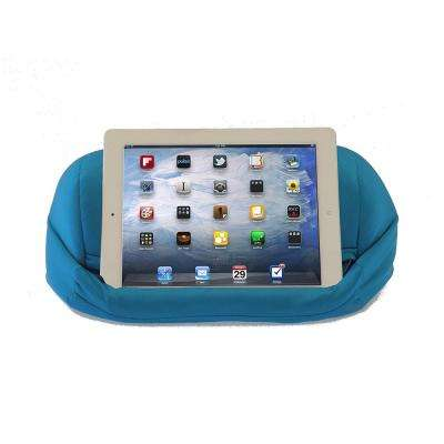 Universal Beanbag Lap Stand for Tablets, Blue
