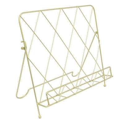 13 in. Gold Book Display
