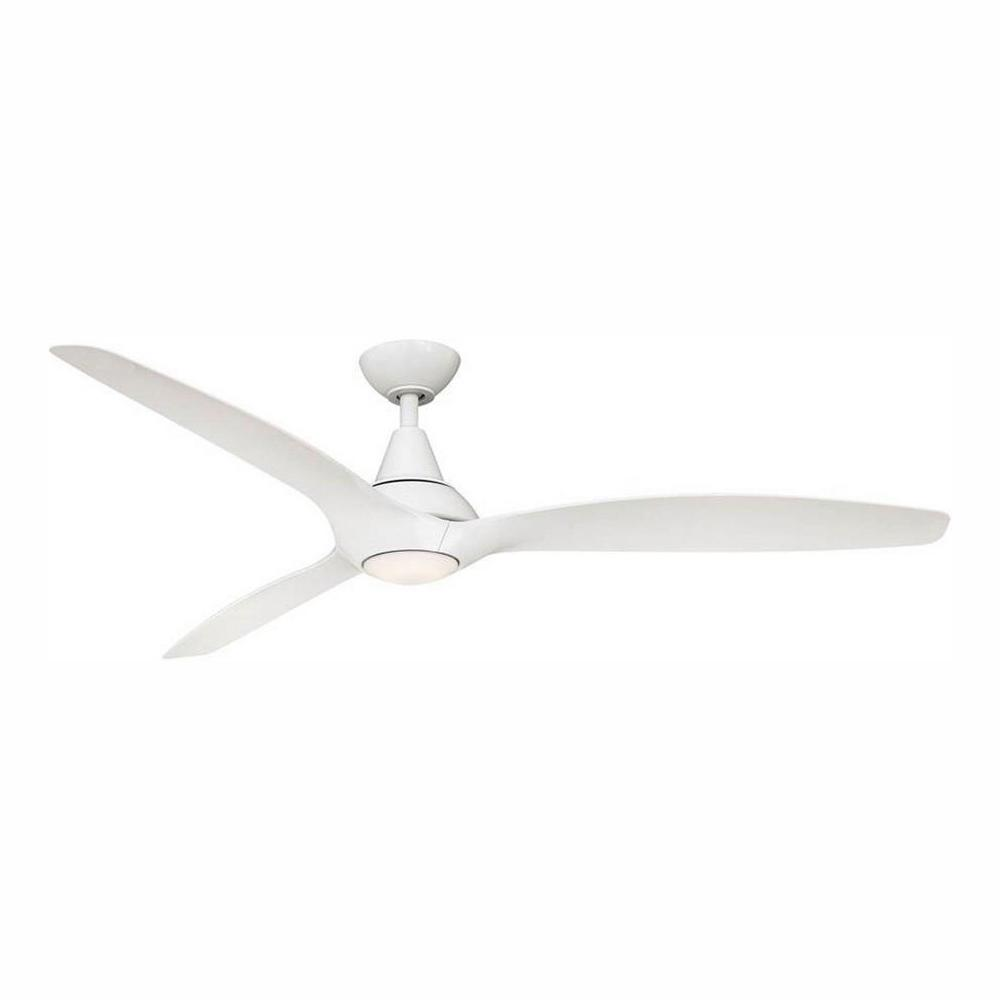Home Decorators Collection Tidal Breeze 60 in. LED Indoor White Ceiling Fan with Light Kit and Wall Control