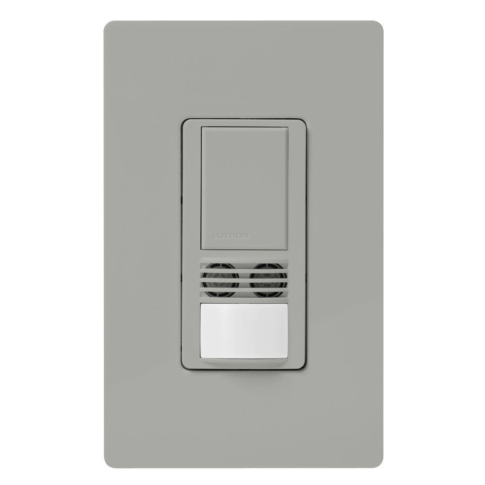 Lutron Maestro Dual-Tech Motion Sensor switch, 6-Amp, Single-Pole ...