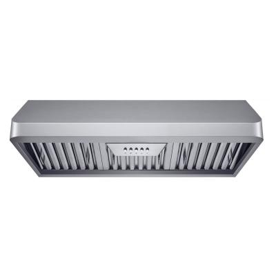 30 in. 300 CFM Ducted Under Cabinet Range Hood in Stainless Steel with Baffle Filters
