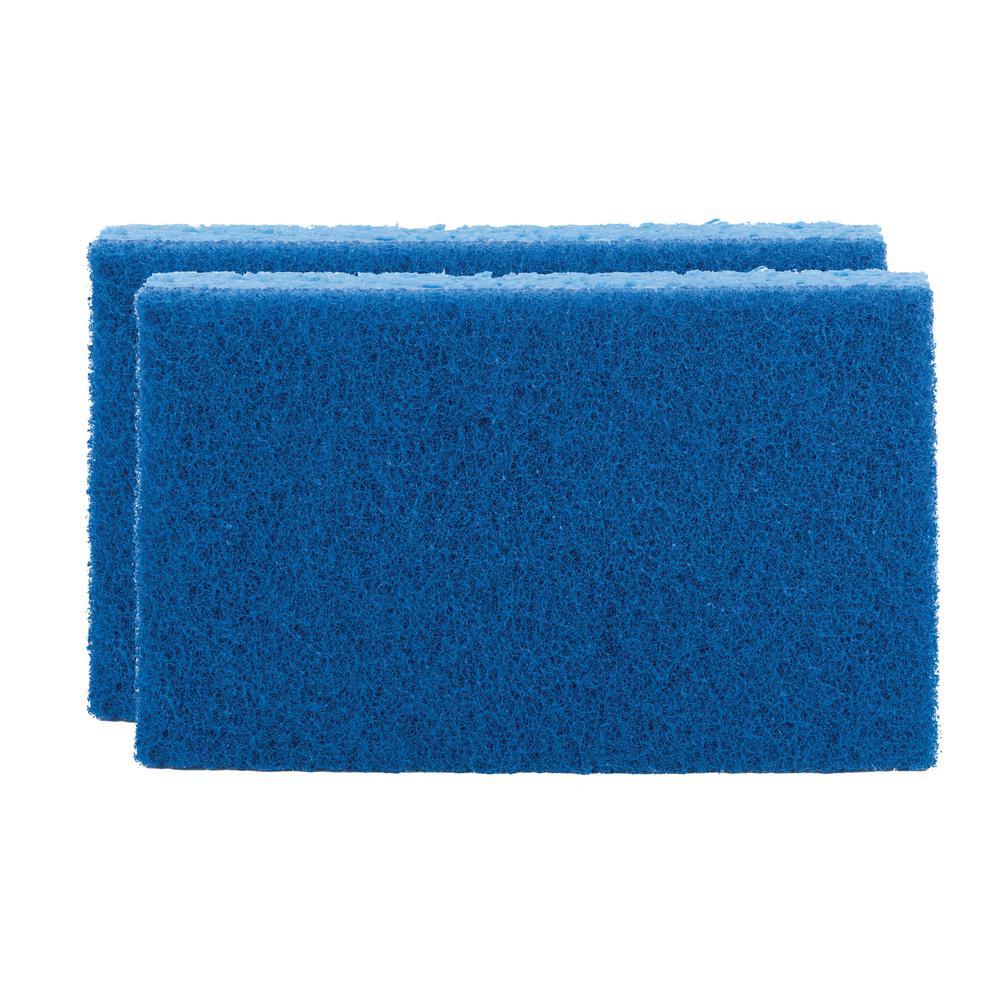 Scotch-Brite 3.5 in. x 6.1 in. Large Non-Scratch Scrub Sponge (2-Pack)