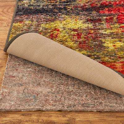 Eroded Color Multi Set - Set Includes: 5 ft. x 8 ft. Indoor Area Rug and Rug Pad