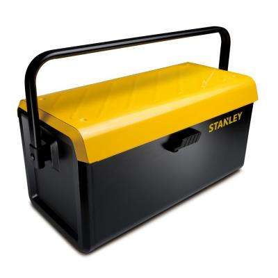19 in. Metal Toolbox