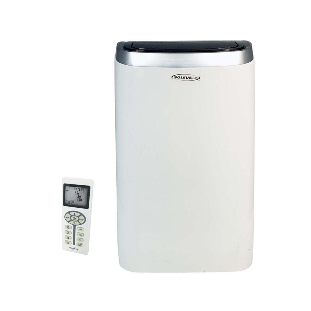 SoleusAir PSC 12 01 12000 BTU Portable Air Conditioner With Dehumidifier
