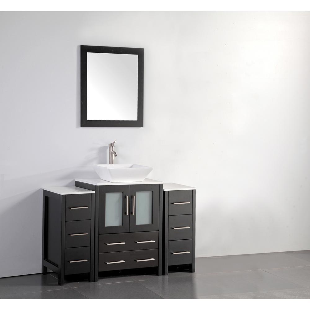 Vanity Art 48 in. W x 18.5 in. D x 36 in. H Bathroom ...