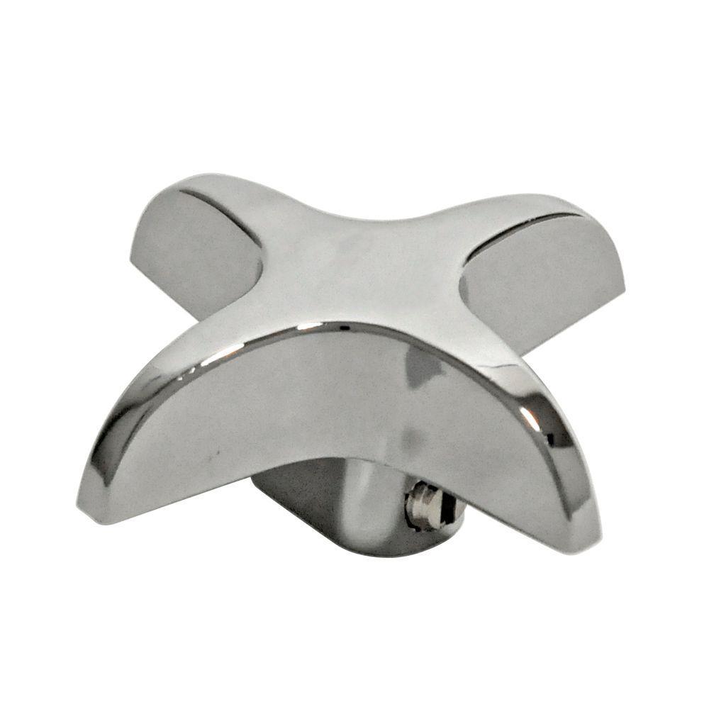 Universal Vise Grip Cross Arm Handle in Chrome